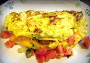 4-egg omelet.nowicaneatcake