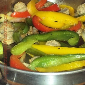 peppers and sausage