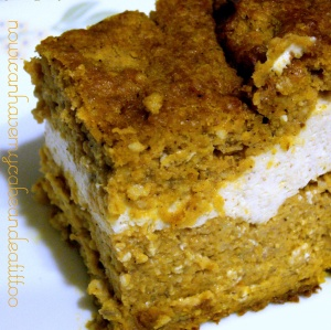 Pumpkin Cream Cake