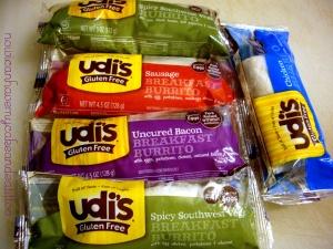 udi's burritos